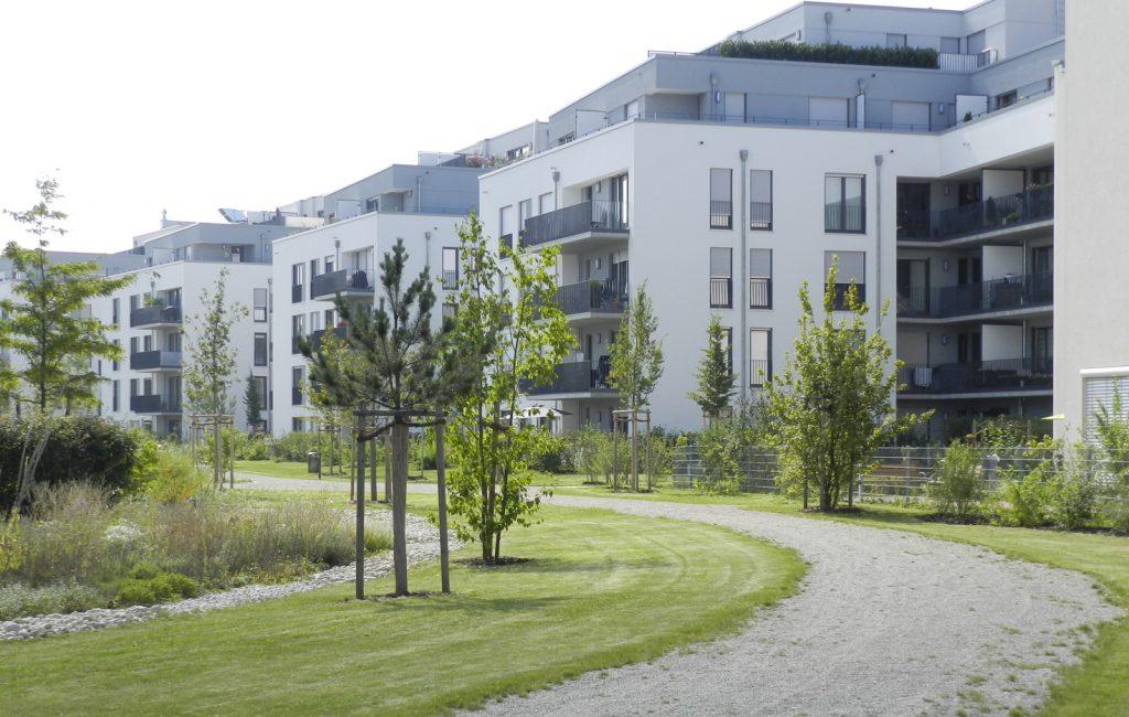 Öffentlicher Park, München-Moosach