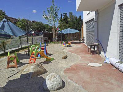 Kinderspielplatz einer KiTa