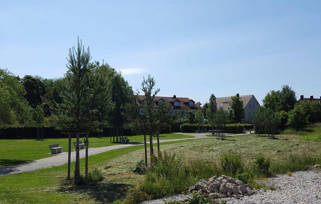 Öffentliche Grünfläche, München-Fasanerie