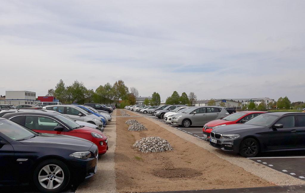 Hexal Parkplatz, Holzkirchen